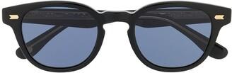 Eyevan 7285 Circle Frame Sunglasses