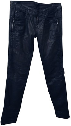 Diesel Black Gold Anthracite Cotton - elasthane Jeans for Women