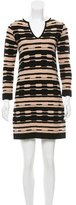 M Missoni Patterned Mini Dress