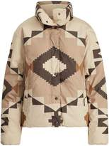 Ralph Lauren Geometric Down Jacket