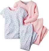 Carter's 4-pc. Bird Pajama Set - Toddler Girls 2t-5t