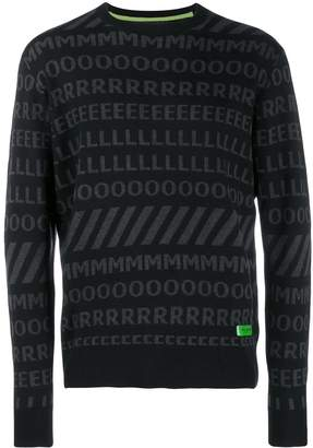 Frankie Morello logo sweater