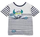Hatley Toddler's, Little Boy's & Boy's Monster In Stripes Tee
