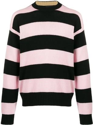 Prada Cashmere Striped Jumper