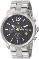 Hush Puppies Men's HP.6065M.1502 Orbz Stainless Steel Chronograph Luminous Date Watch