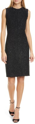 Kate Spade Tinsel Tweed Sleeveless Dress