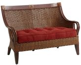 Pier 1 Imports Temani Brown Wicker Settee