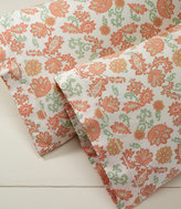 L.L. Bean 340-Thread-Count Cotton Sateen Pillowcases, Floral Set of Two