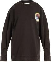 Off-White Hand sphere-print cotton-jersey sweatshirt
