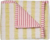 Pehr Designs Quilted Nursery Blanket in Pink & Citron