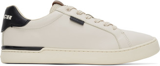 Coach 1941 Off-White Lowline Low Top Sneakers