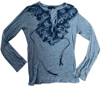 Roberto Cavalli Grey Cotton Top for Women