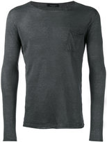 Roberto Collina fine knit jumper - men - Linen/Flax - 50