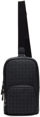 Dunhill Black Signature Sling Backpack