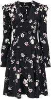 Valentino Flowers Fall dress - women - Silk/Polyamide - 40