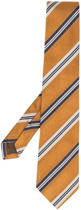 Church's Diagonal Stripe Silk Tie