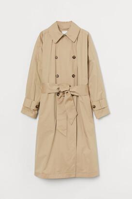 H&M Cotton Trenchcoat