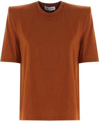 ATTICO Bella Structured Shoulder T-Shirt