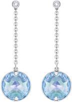 Swarovski Globe Pierced Earrings, Blue