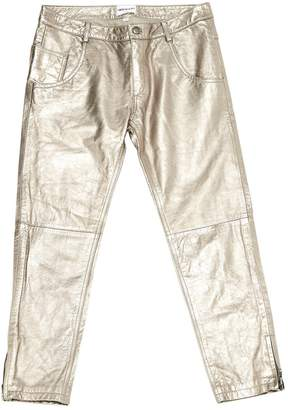 American Retro Other Leather Trousers