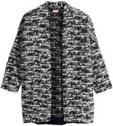 H&M Melange Cardigan - Black - Ladies
