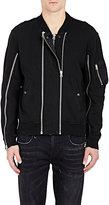 R 13 Men's Zip-Front Sweatshirt-Black Size S