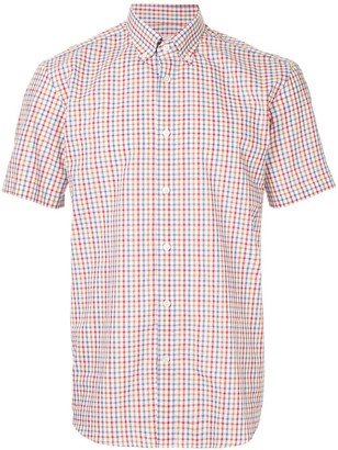 Gieves & Hawkes Gingham Button Down Shirt