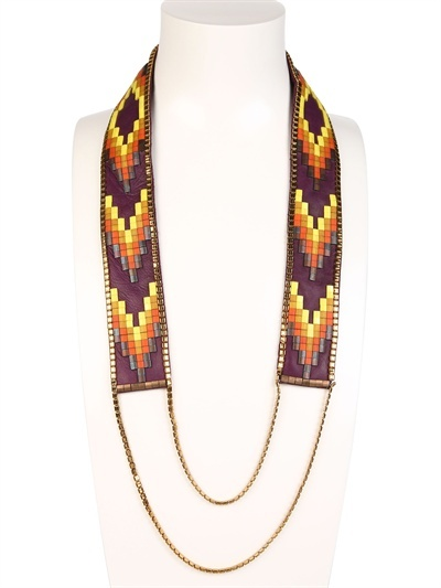 Fiona Paxton Nora Long Beaded Necklace