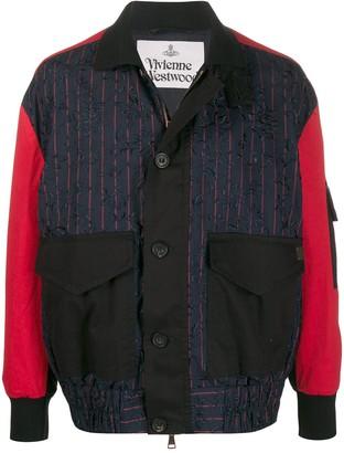 Vivienne Westwood Contrast Sleeve Jacket