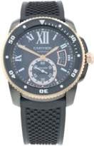 Pre-Owned Cartier Calibre De Carbon Diver Mens Watch W2CA0004/3729