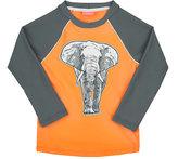 Sunuva Elephant Graphic Rash Guard-ORANGE
