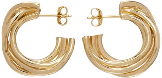 COMPLETEDWORKS Gold Encounter Earrings