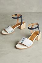 Coclico Trim Printed Heels