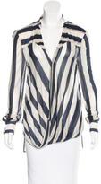 Derek Lam 10 Crosby Striped Knit Top