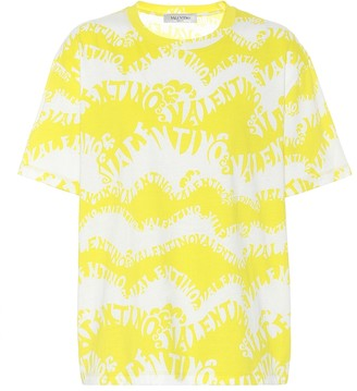 Valentino Exclusive to Mytheresa oversized cotton printed T-shirt