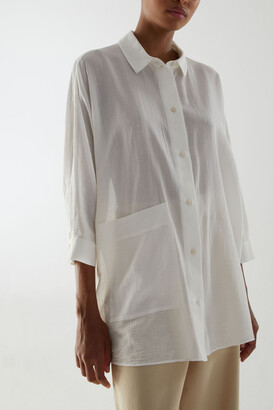 Cos Oversized Tunic Shirt