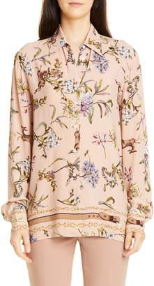Seventy Floral Printed Blouse