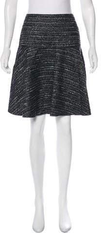 148 Metallic Bouclé Skirt w- Tags