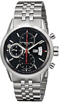 Raymond Weil Men's 7730-ST-20041 Freelancer Analog Display Swiss Automatic Silver Watch