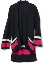 Gap Border stripe kimono cardigan