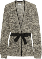Brunello Cucinelli Sequin-embellished hemp-blend cardigan