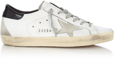 Golden Goose Deluxe Brand Super Star low-top leather and suede trainers