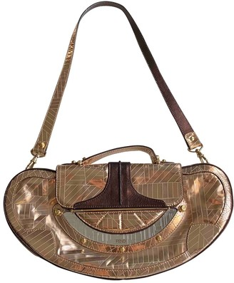 Fendi Metallic Patent leather Handbags