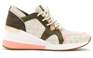 MICHAEL Michael Kors Liv panelled sneakers