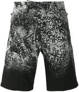 Diesel printed shorts