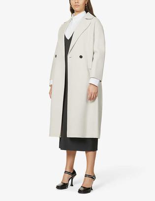 S Max Mara Zante double-breasted wool coat