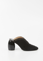 Dries Van Noten black laceup heel