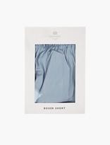 Sunspel Blue Classic Boxer Shorts