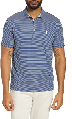 johnnie-O Merrins Hangin' Out Stripe Performance Polo
