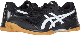 Asics GEL-Rocket(r) 9 (Black/White) Men's Volleyball Shoes